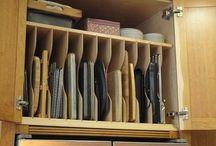 Extra storage or shoes behind door s