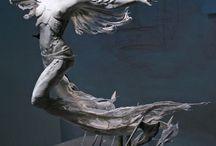 арт скульптуры