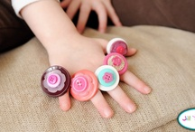 Button Kid Crafts / by LOTSOFBUTTONS.COM