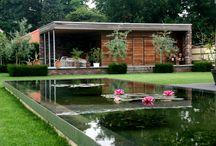 arquitectura y jardin