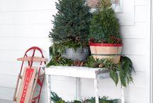 kültéri karácsonyi dekor