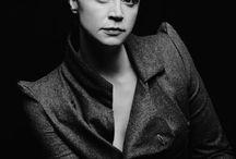 Портрет с черным фоном
