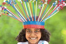 kids crafts-patriotic / by Michelle Robison