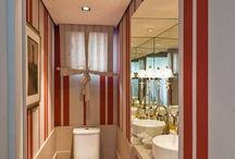 Banheiro criativo / Inspirações de banheiros criativos! Fugir do convencional pode ser uma ótima alternativa para uma decor autêntica.