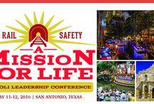 2016 Operation Lifesaver Leadership Conference / Information on the Operation Lifesaver Leadership Conference, May 11-12, 2016, in San Antonio, Texas