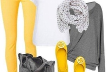 yelow jeans outfits