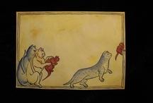 Katzen im Mittelalter