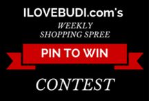Pick Your Faves Giveaway! Shopbudi.com / Rules Step 1: Simply Pin Items from ILOVEBUDI.com to this board Step 2: WIN YOUR FAVE ITEMS Every Monday we will give away 3x$100 shopping spree gift cards. Winners will be pinned here, emailed and posted on our blog. Did we mention, giveaways will get bigger as the board grows! Starts at 20k Followers. Help us get there today! ONLY PINS FROM ILOVEBUDI.com count on this board. Good luck :)  EVERYONE IS WELCOME TO JOIN. Invite your friends!