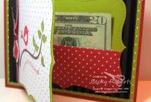 Gift Card & Money Holders