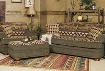 Rustic livingroom furniture