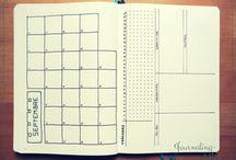 Bullet Journal Idées