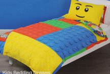 Lego Bedding / Lego bedding sets and bedroom accessories available from Kids Bedding Dreams online store. www.kidsbeddingdreams.com/lego-bedding