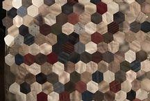 Hexagon med bord