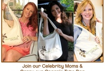 Mother's Day / It's not too late to celebrate Mother's Day & join our Celebrity Moms by carrying our organic tote bag! This weekend only...on sale for $14.95! / by Organically Grown