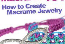 Shamballa macrame Jewelry