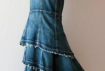 были джинсы