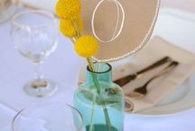 party and table setting ideas
