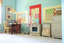 Caroline's Room....Turquoise and Red!! / by Melanie Saunders
