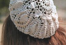 Hats, berets, cloche, crochet