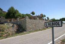 L'Albiol / Situat al límit amb l'Alt Camp, als vessants sud-est de les muntanyes de Prades, el poble es formà a redós del castell d'origen sarraí, avui enrunat. El municipi està format per dos petits nuclis, l'Albiol pròpiament dit i Bonretorn, indret d'estiueig. L'Albiol, a més, inclou les Masies Catalanes.