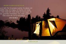 Películas de viajes / Un tablero para frases e imágenes inspiradoras de películas sobre viajeros y campistas que viajan en caravanas y remolques. http://rcomanche.com/