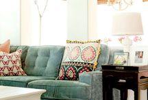 Sofas I love!! / Sofa designs and fabrics for interior design inspiration
