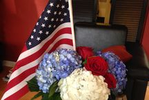 Table Top Ideas - July Fourth / Table Top Ideas to help make your table settings perfect for your independence day party.