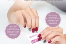 TruShine Gel System / Get professional, salon-quality gel polish nails at home with TruShine Gel Enamel! Our soak-off formula goes on easy and gives you a high-shine finish without fading or chipping.  www.sochicnails.com.au
