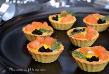 """Recettes """"apéro de fêtes"""" (entrées) par Blogs de cuisine !"""