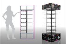 DESIGN DE PRODUTOS / Projeto para displays de ponto de venda, merchandising e produtos