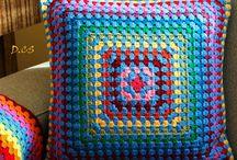 Crochet Cushions/Horgolt párnák / My crochet cushions.