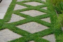 Garden paver ideas
