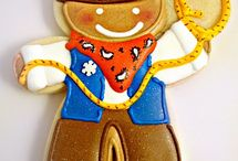 Icing Ideas: Kids: Cowboys/Indians