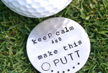 Golf Life / Surround yourself with creative ideas that incorporate golf - from art, games, wedding ideas, decorations, and gifts!