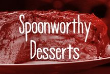 Spoonworthy Desserts / Get on our spoon now, you delicious piece of yum.