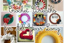 Crocheted Wreaths& Every Other Kind!