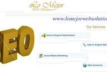 Search Engine Marketing, SEO services / For quality web development services and dedicated SEO services, Social Media marketing, Web 2.0 Techniques and content writing services, LoMejorWebSolutions.com is a great option. The search engine marketing company also offers affordable web design and development.
