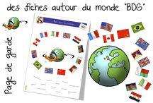 Ecole : projet tour du monde