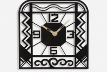 "Wall clock Art Deco CHARLESTON / Wall clock Charleston-  40 cm / 16"" - Metal laser cutting - Design Jacques Lahitte © Tolonensis Creation - French Design - Made in Poland - www.tolonensis.com - You are interested with this clock ? Feel free to contact info@tolonensis.com - http://www.delorentis.eu/charleston-art-deco-clock.html"