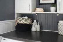 Laundry room makeover / by Anna Ward