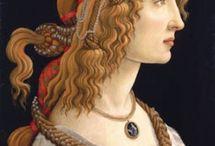 Douceur Florentine / Les merveilles de la peinture italienne de la Renaissance (Boticelli, Vinci,etc...)
