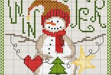 Charts/Patterns For Christmas Needlework Projects / by Linda