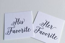 Favor & Wedding Welcome Bag Tags / Printed and printable favor tags created by me!