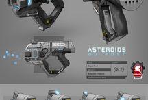 sci fi guns