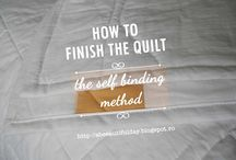 QUILTS - HOW TO