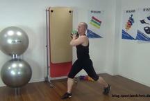 Medizinball Übungen / Ich zeige 5 Medizinball Übungen