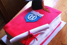 Graduation cake #sugarart #cakes / Graduation cake