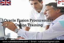 Oracle Fusion Procurement Online Training / Rudra IT Solutions is one of the Promote leading IT Services and Oracle Fusion Procurement Online Training  solutions along with IT Online training conservatory, with latest Industry offering technology in Hyderabad,India, USA, UK, Australia, New Zealand, UAE, Saudi Arabia,Pakistan, Singapore, Kuwait.   About Course Details: http://www.rudraitsolutions.com/fusion-applications/oracle-fusion-procurement.php