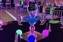 Glow-in-the-Dark Bar Mitzvah Themed party