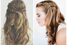 hairstyles / easy to do hairstyles